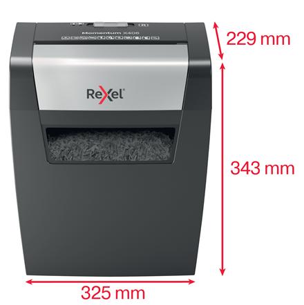 Rexel Momentum X406 Evrak İmha Makinesi