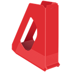 Durable White Rexel Choices Pen Pot 2 chambers Free P/&P! Desktop pen pot
