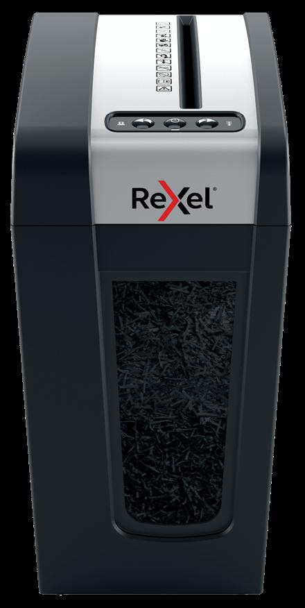 Technologie Anti-Bourrage Rexel Mercury Destructeur de Documents Manuel Coupe Micro 8 Feuilles Pour Usage Priv/é ou Administratif Noir Mercury REM820 2104010 Corbeille 21L